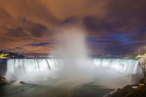 Niagara Fälle bei Nacht
