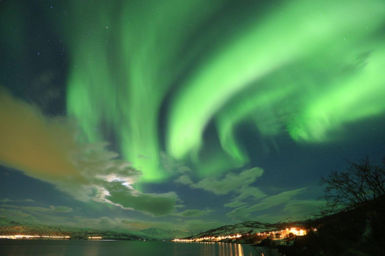 Nordlichter, Abisko National Park, Schweden