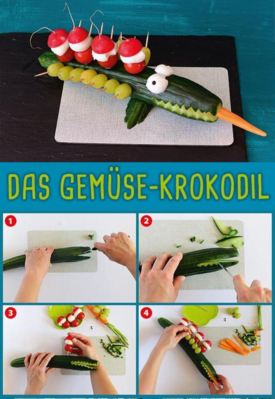 Gemüse Krokodil