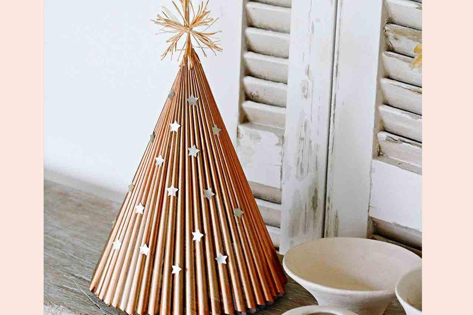Weihnachtsbaum aus Papier