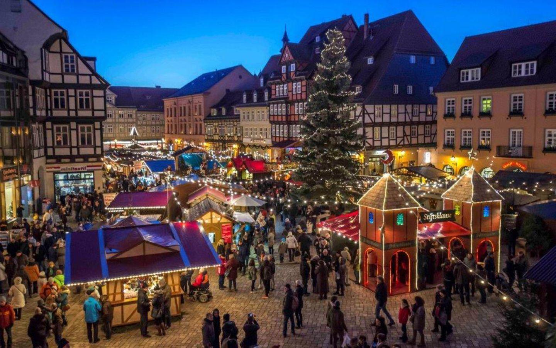 Weihnachtsmarkt, Quedlinburg