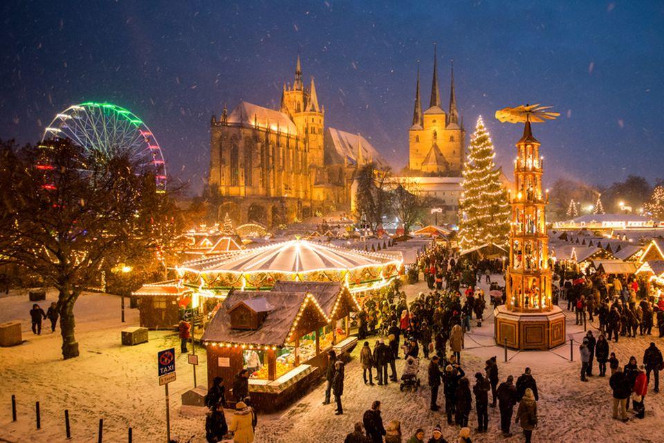 Erfurt, Weihnachtsmarkt