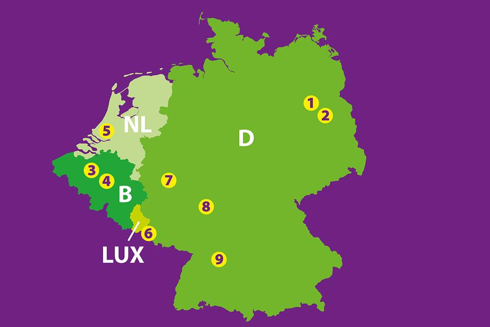 Museen Karte