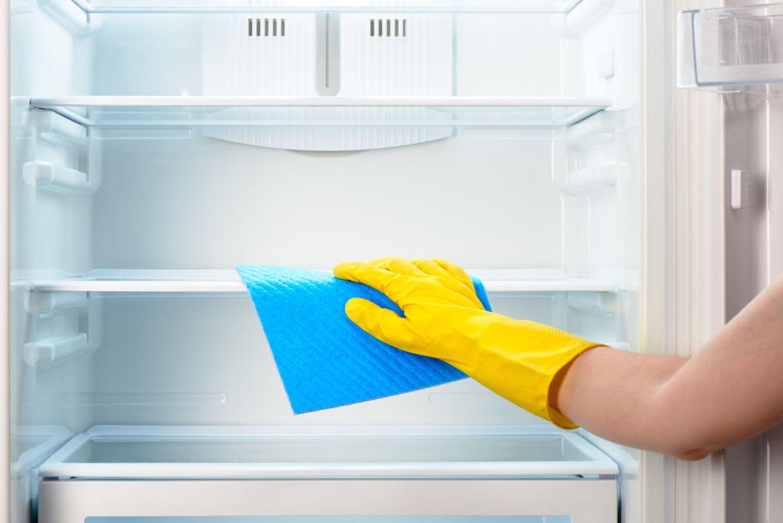 Kühlschrank putzen