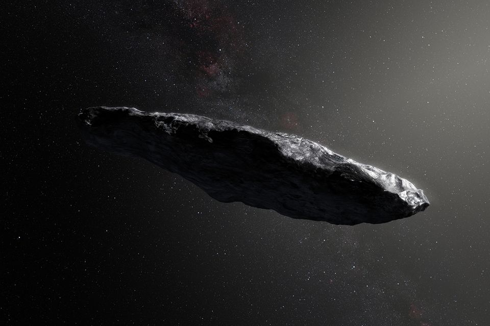 Asteroird Oumuamua