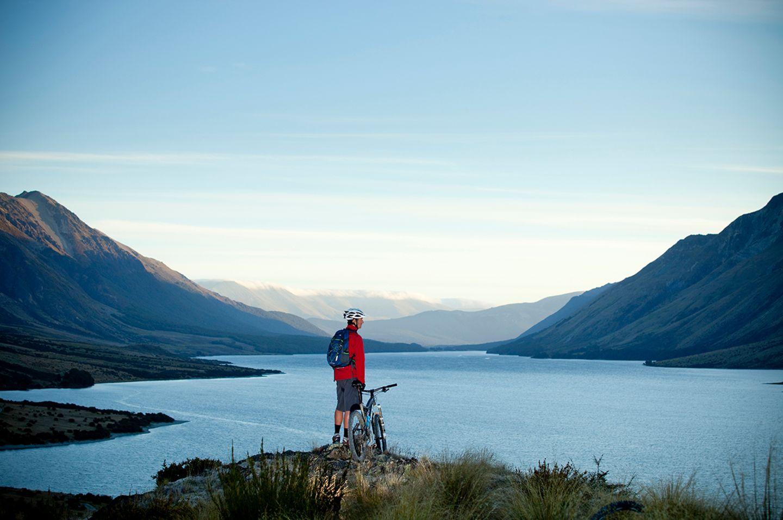 Neuseeland mit dem Fahrrad erkunden