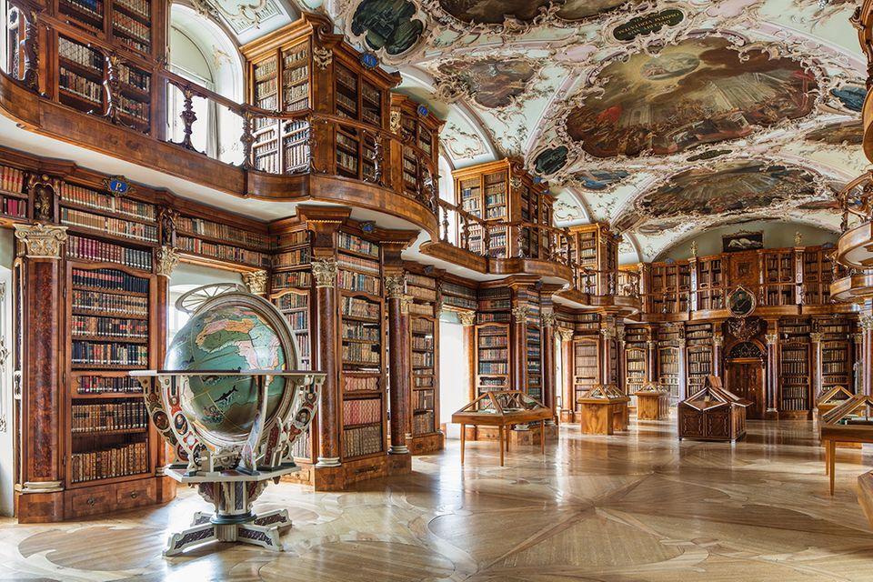 Klosterbibliothek, Sankt Gallen, Schweiz