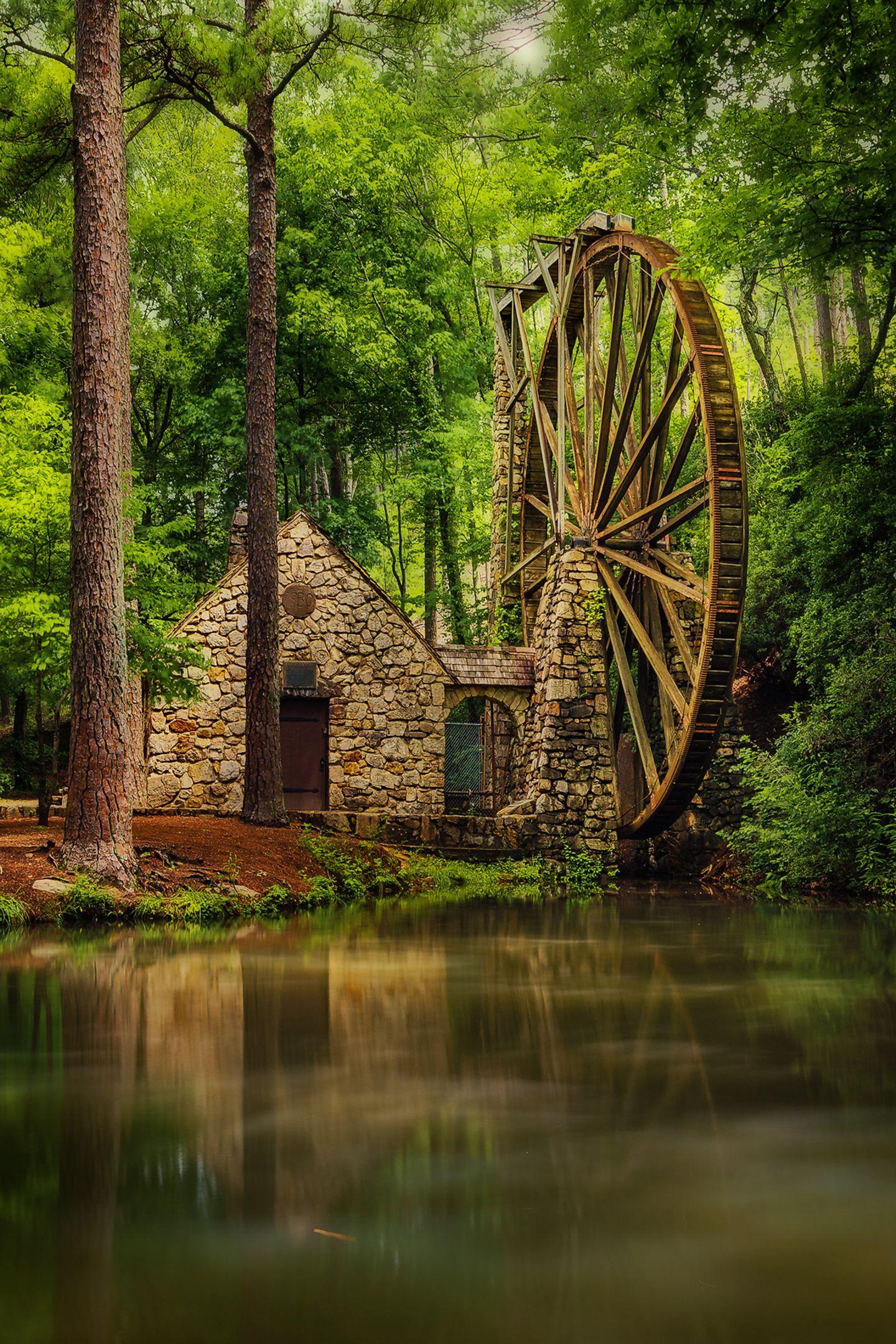 Mühle, Georgia, USA