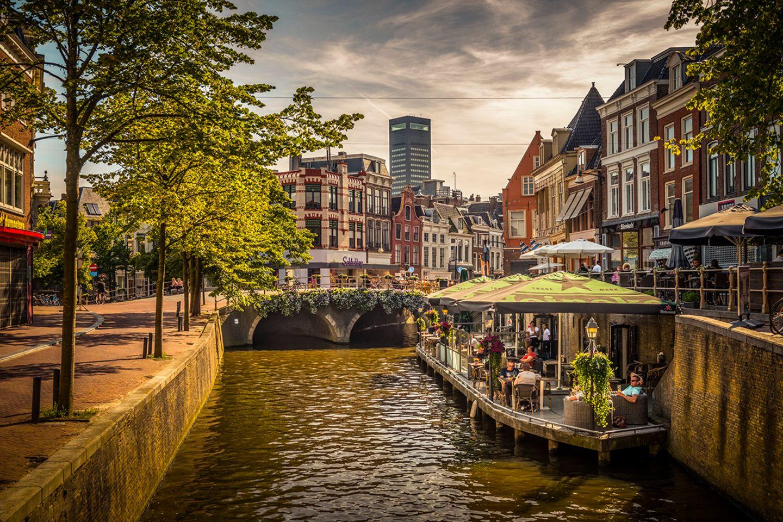 Niederlande, Friesland, Leeuwarden, Hafen