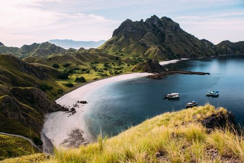 Padar island, Komodo, Flores