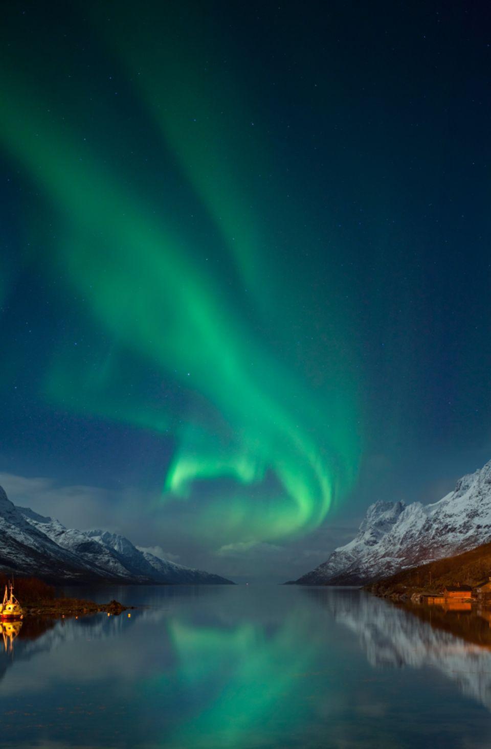 Aurora Borealis, Norwegen