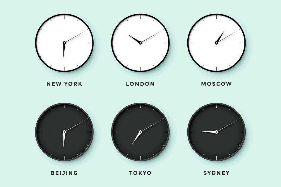 Zeitzonen