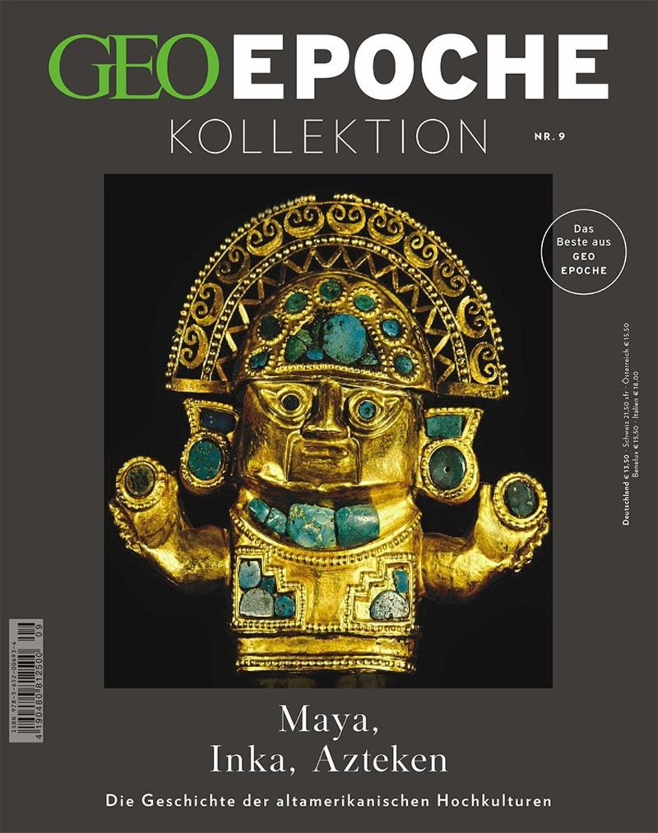Cover GEO Epoche Kollektion Maya, Inka, Azteken
