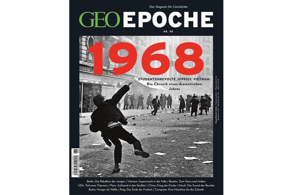 """GEO Epoche Nr. 88 """"1968"""""""