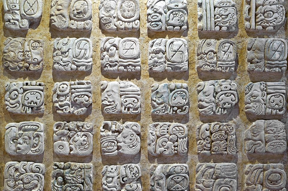 Schrift, Maya