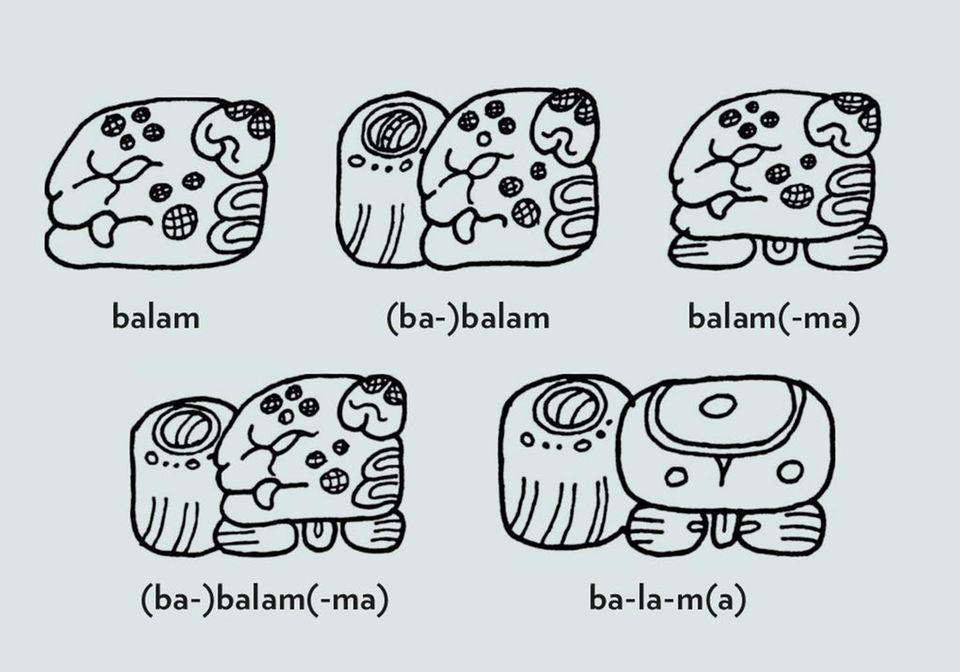 Maya, Schrift