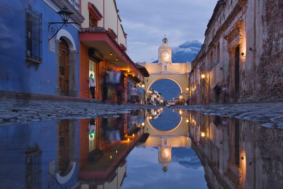 Stadtansicht Antigua Guatemala