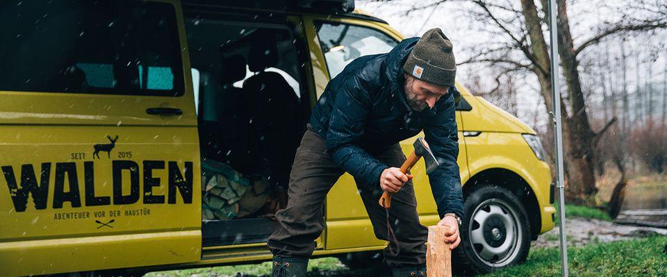 Harald macht Holz