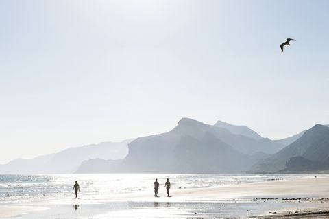 Oman, Dhofar, Salalah, Maghsail Bay Beach