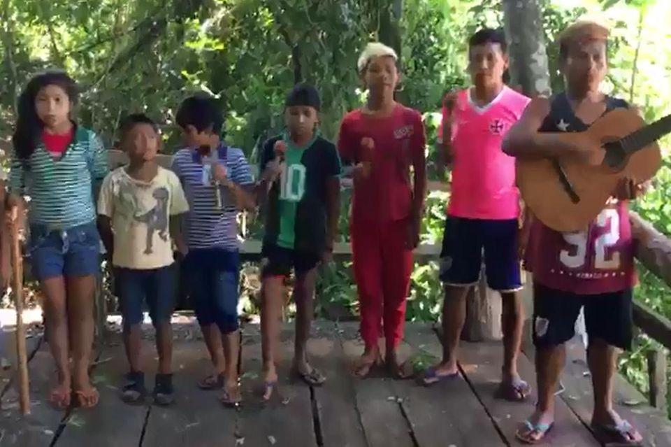 Chor der Guaraní