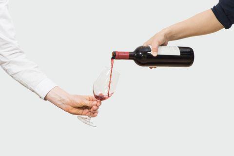Rotwein, Alkohol