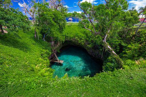 Samoa, To Sua Ocean Trench