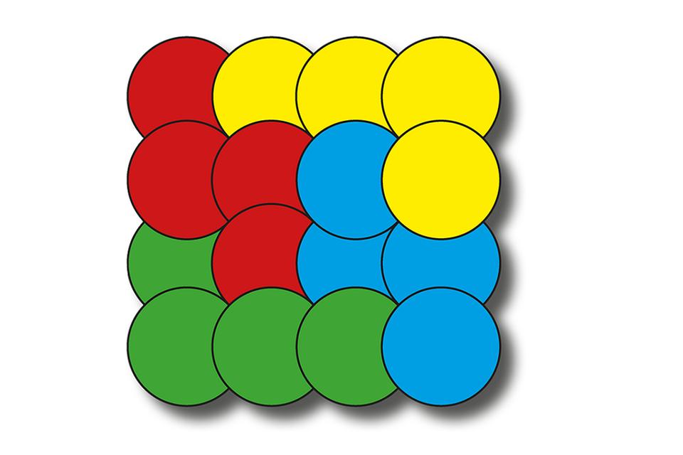 Kinderrätsel: Das kniffelige Farbenrätsel