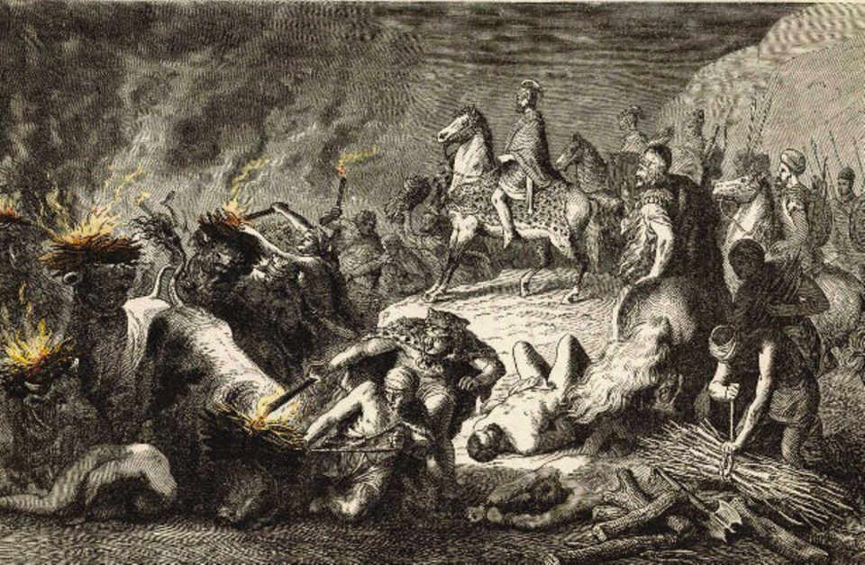 Hannibals Schlacht, 216 v. Chr.