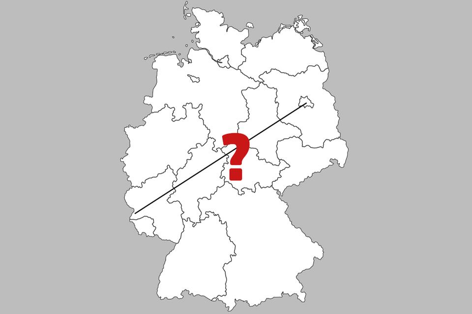 Luftlinien, Deutschland, Quiz