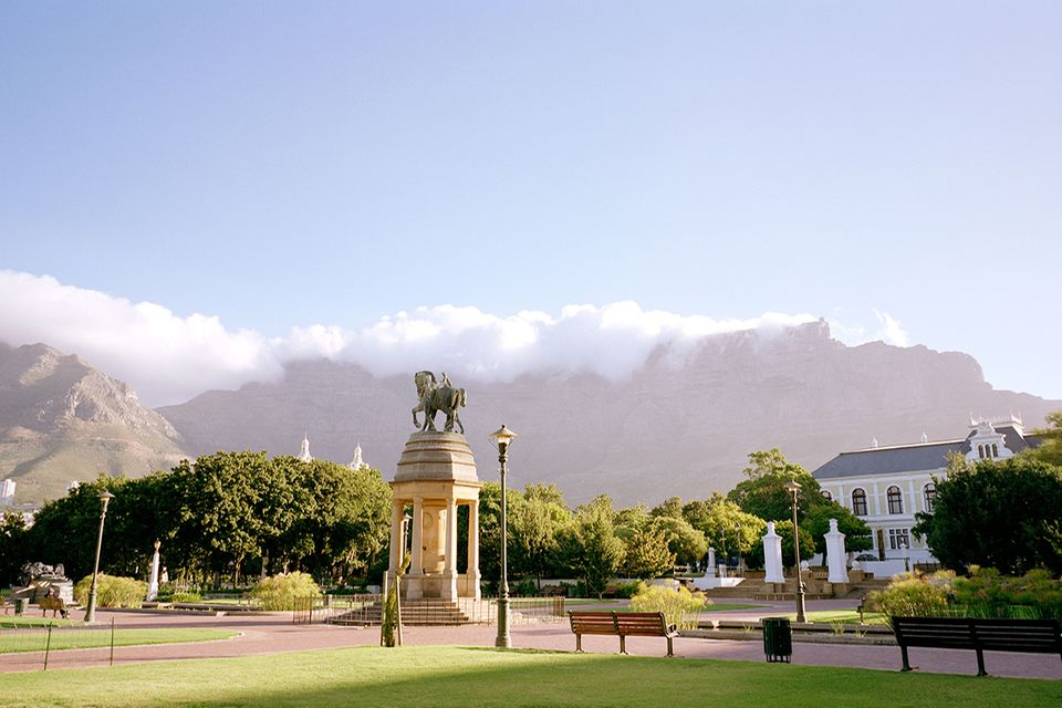 Company's Gardens, Table Mountain, Kapstadt