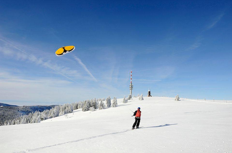 Snowkiten, Feldberg