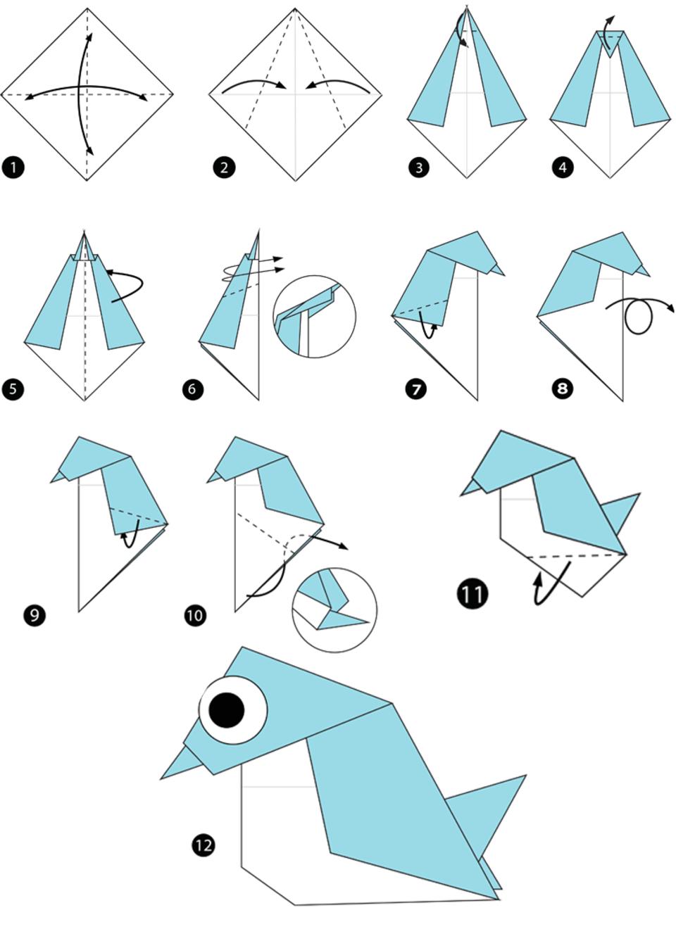 Origami Anleitung