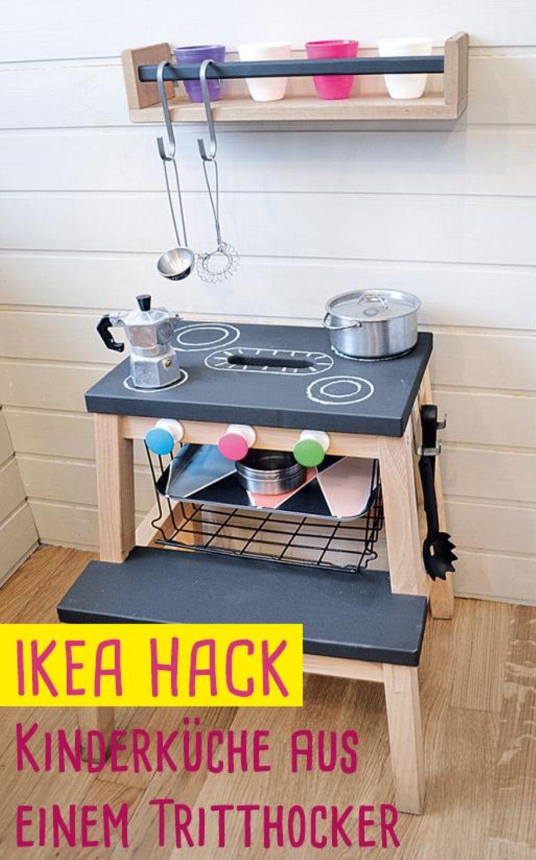Ikea Hack: So baut ihr aus einem Tritthocker eine schicke Küche