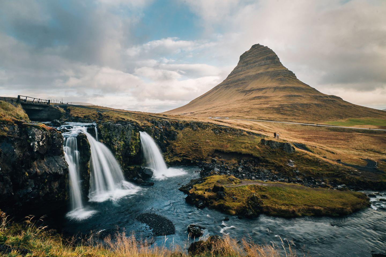 Kirkjufell auf Island