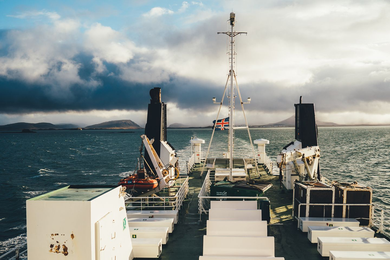 Fährfahrt auf Island