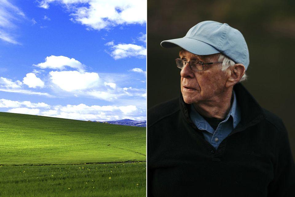Charles O'Rear: 2001 erschien sein Foto auf allen Windows XP Computern. Jetzt hat Charles O'Rear drei neue Hintergrundbilder geschossen.