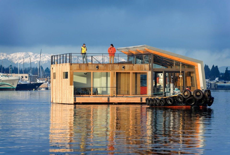 Ninebark – Portage Bay Floating Home, Seattle, Washington, USA