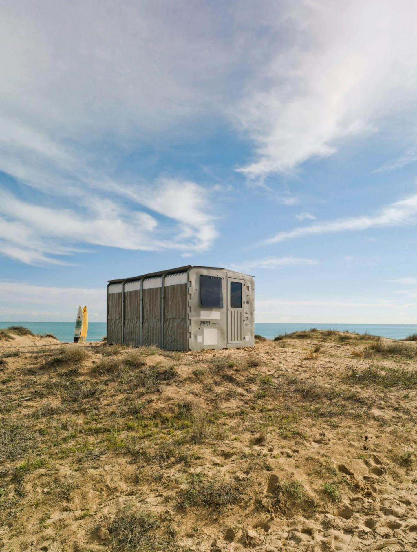 Suricatta Systems – SURI—Shelter Units for Rapid Installation, La Marina, Alicante, Spanien