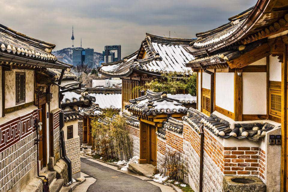 Bukchon Hanok Village, Südkorea