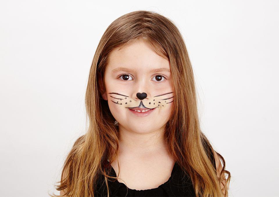 Kinderschminken - Katze