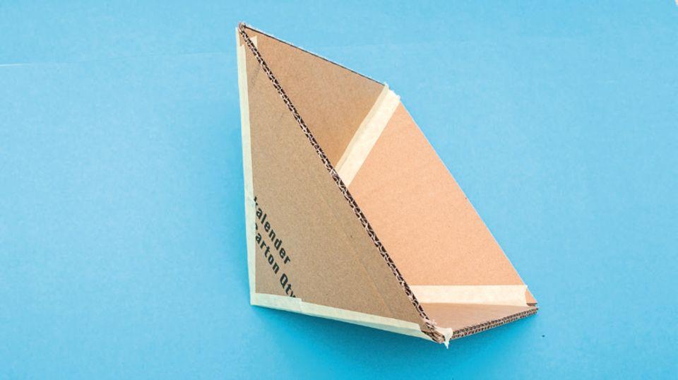 Backen wie in Ägypten: 3: Pyramide knicken