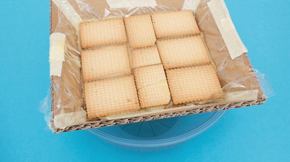 Kuchen-Pyramide