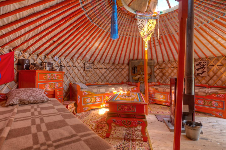 Mongolische Jurte, Altes Land, Deutschland