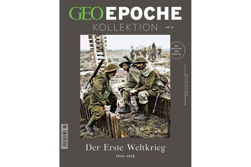 GEO Epoche Kollektion Nr. 10 - Erster Weltkrieg