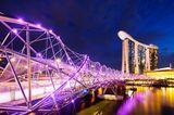 Helix-Brücke, Singapur