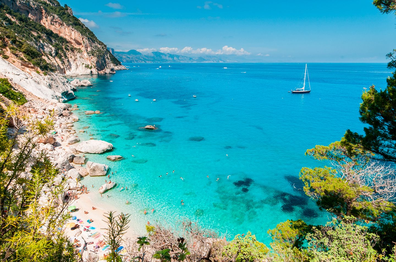 Cala Goloritze, Sardinien