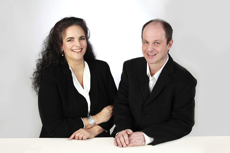 Stefanie Stalf und Roland Ressemann