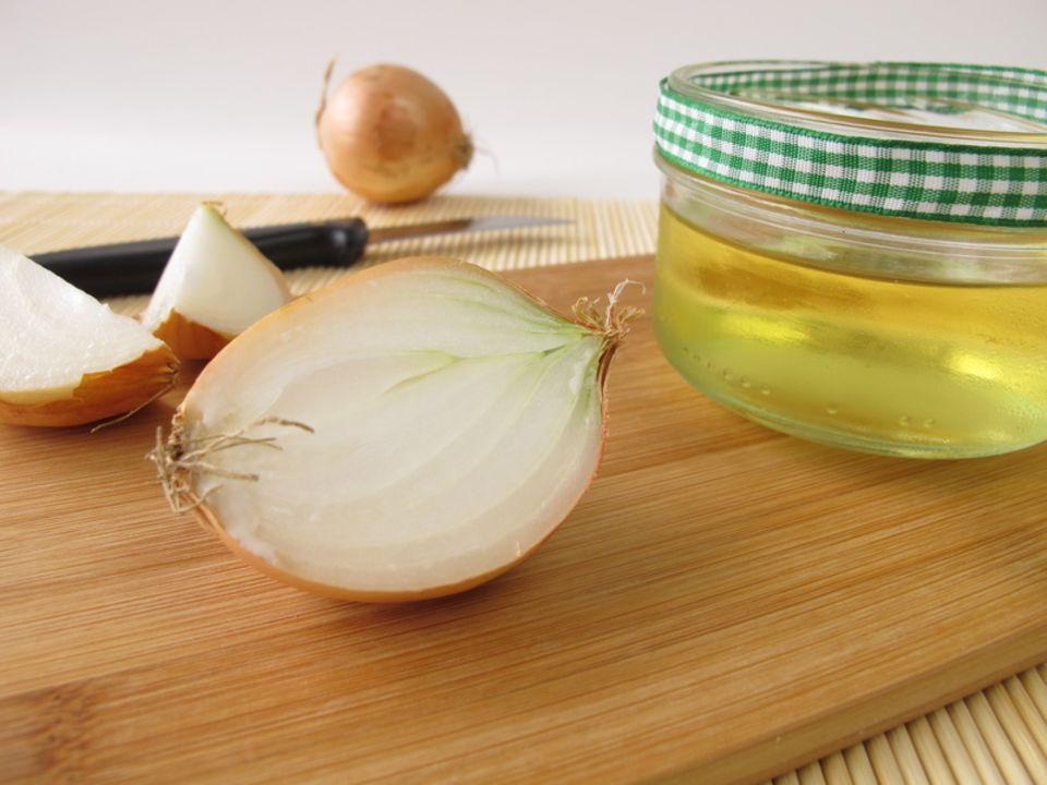 Zwiebelsaft als Hausmittel
