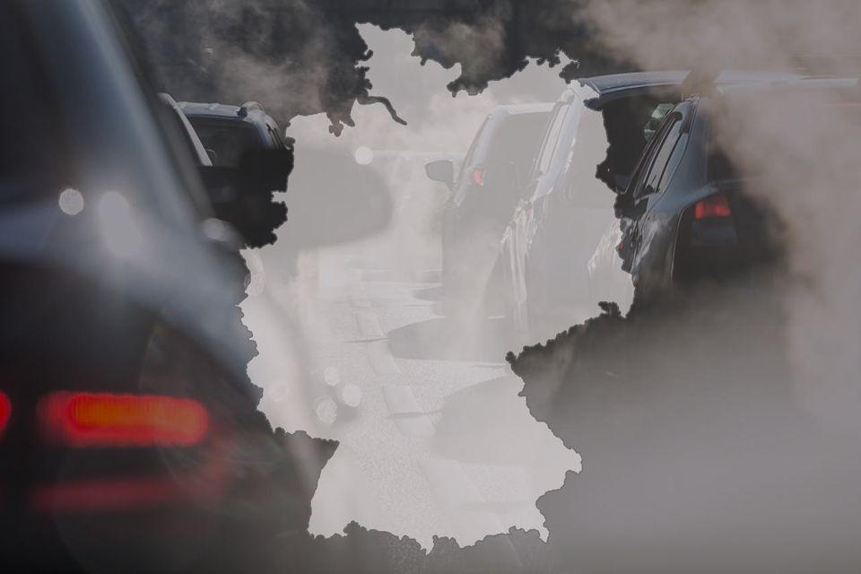 ©: elcovalana/Fotolia. Luftverschmutzung - Deutschland