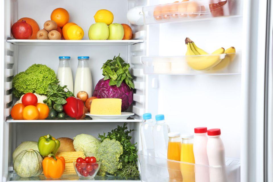 voller Kühlschrank